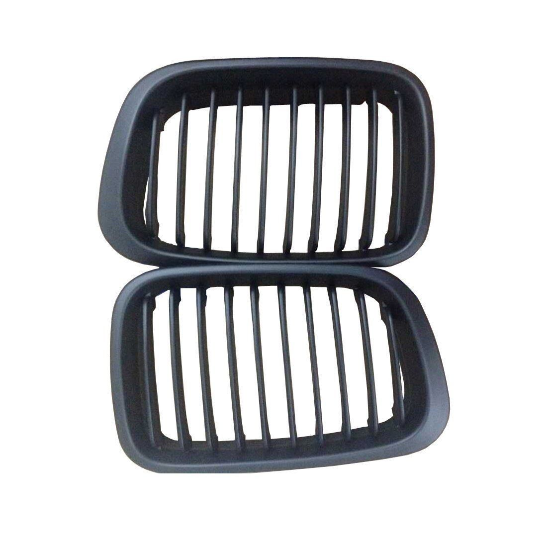 Car Style Matte Kidney Car Front Auto Car Racing Grille for BMW E46 4Door Grill 1998
