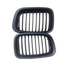 Автомобиль стиль матовая почек автомобиля спереди авто гонки решетка для BMW E46 4 двери гриль 1998-2001 для автомобили