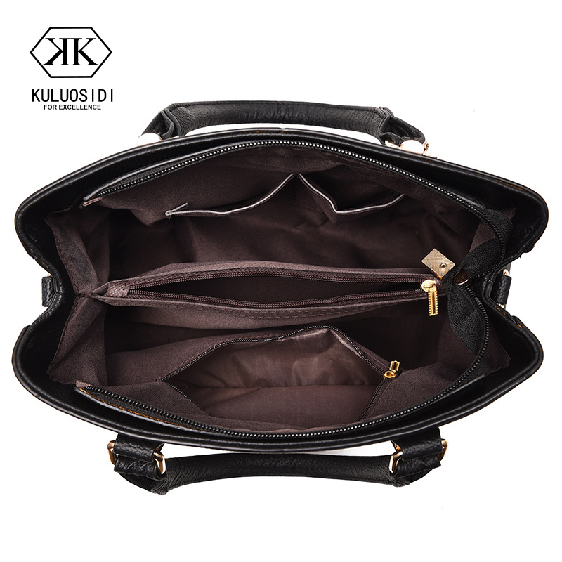 Embroidery Messenger Bags Women Leather Handbags Bags for Women 2018 Sac a  Main Ladies Hand Bag da9fd8685d0db