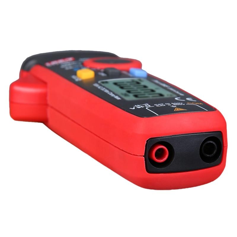Tools : UNI-T UNI T Mini Clamp Meter UT210E Digital True RMS AC DC Current Voltage Tester VFC Capacitance Non Contact Multimeter Clamp