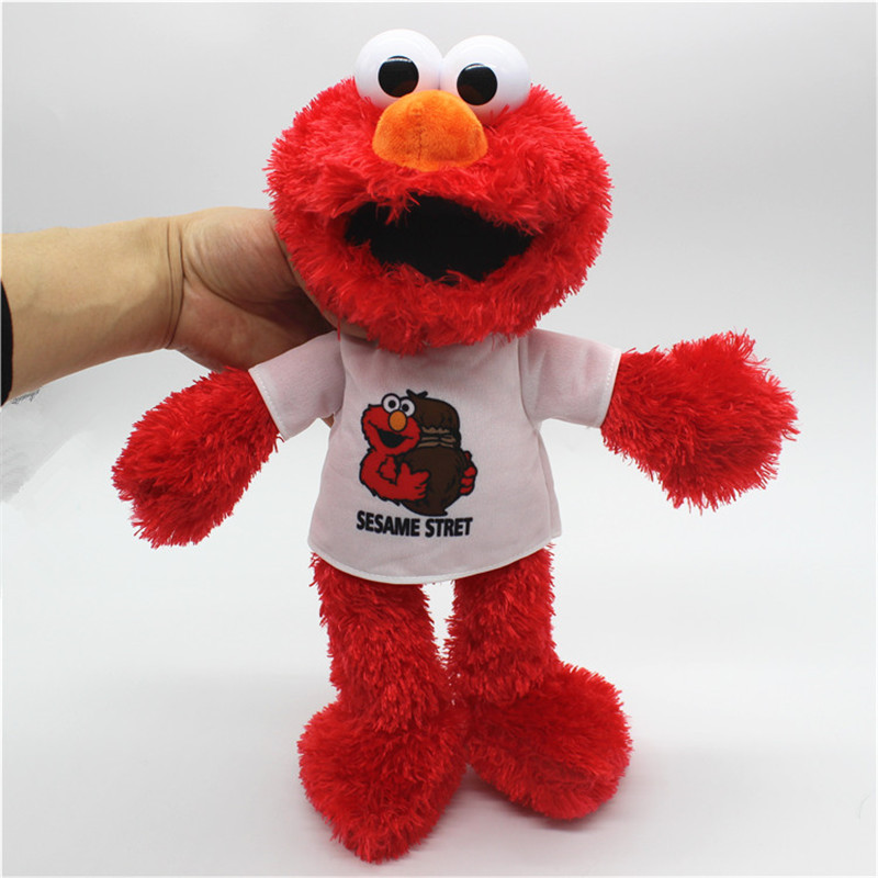 Us 13 86 37 Off 1piece 35cm Classical Elmo Plush Soft Toys Elmo Stuffed Dolls Baby Kids Toys For Children Christmas Gifts In Movies Tv From Toys