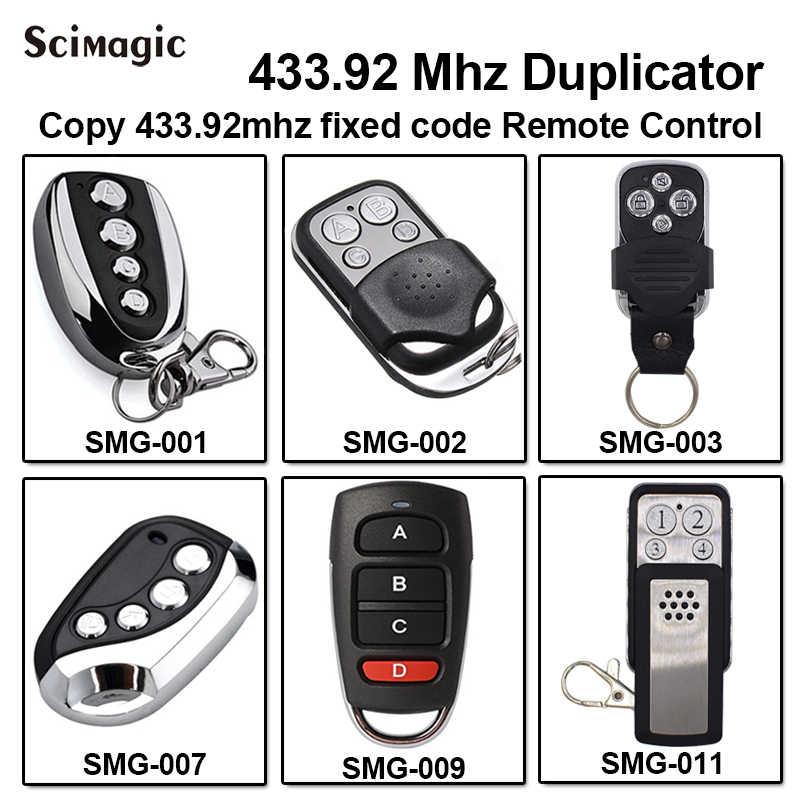 AVIDSEN 100951/AVIDSEN 100955/AVIDSEN 100550/100400 高品質 433.92 433mhz のコピーガレージドアゲート障壁リモコン