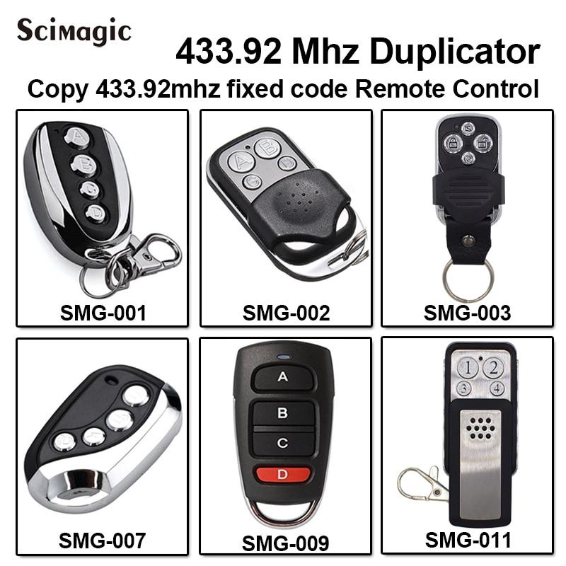 AVIDSEN 100951/AVIDSEN 100955/AVIDSEN 100550/100400 High Quality 433.92Mhz Copy Garage Door Gate Barrier Remote Control
