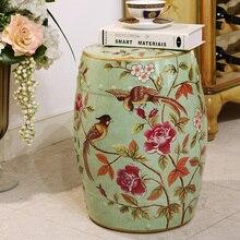 Модный керамический барабанный табурет туалетный столик табурет для спальни