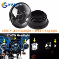 4.5'' inch LED Auxiliary Daymaker Passing fog light for harley Davidson Motorcycle lamps