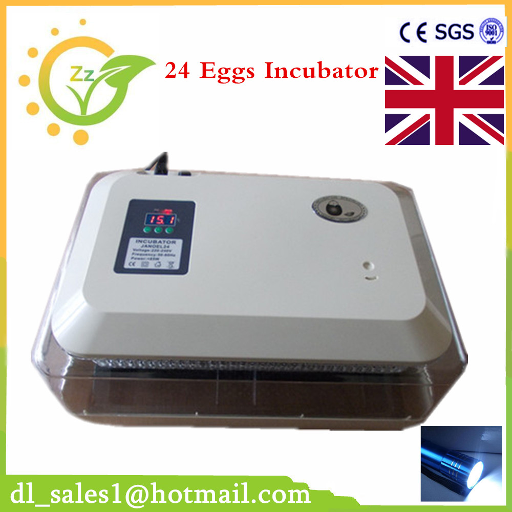New Design Digital Temperature Incubator Duck Hatcher 24 Chicken Egg Incubator Machine new design digital temperature incubator pet supply duck hatcher household chicken egg incubator