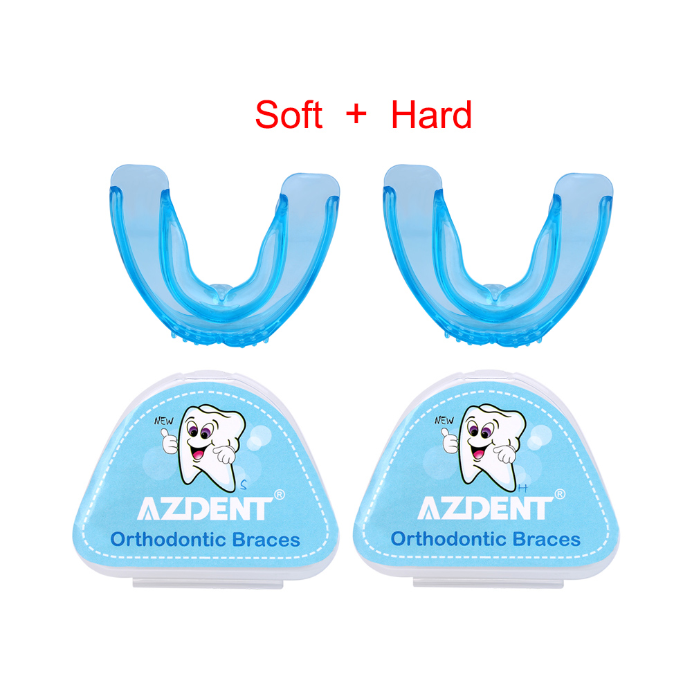 Orthodontic Braces Dental Brace Silicone Teeth Alignment Trainer Teeth Retainer Protector Dentures Mouth Guard Night Brace Teeth