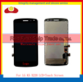"""High Quality 5.0"""" For LG K Series K5 X220 X220MB X220DS Full Lcd Display Touch Screen Digitizer Sensor Assembly Complete Black"""