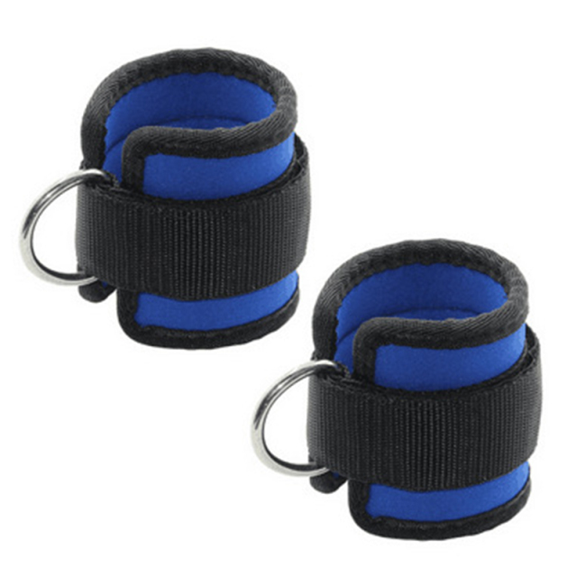 D-ring Ankle Anchor Strap Belt | Multi Gym Cable Attachment | Thigh Leg Strap Lifting Equipment