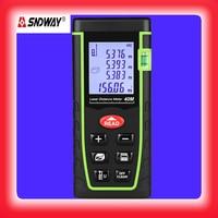 SNDWAY Laser distance meter digital metro Laser Tape measure laser meter range finder function Data Electronic Tape Measure tool