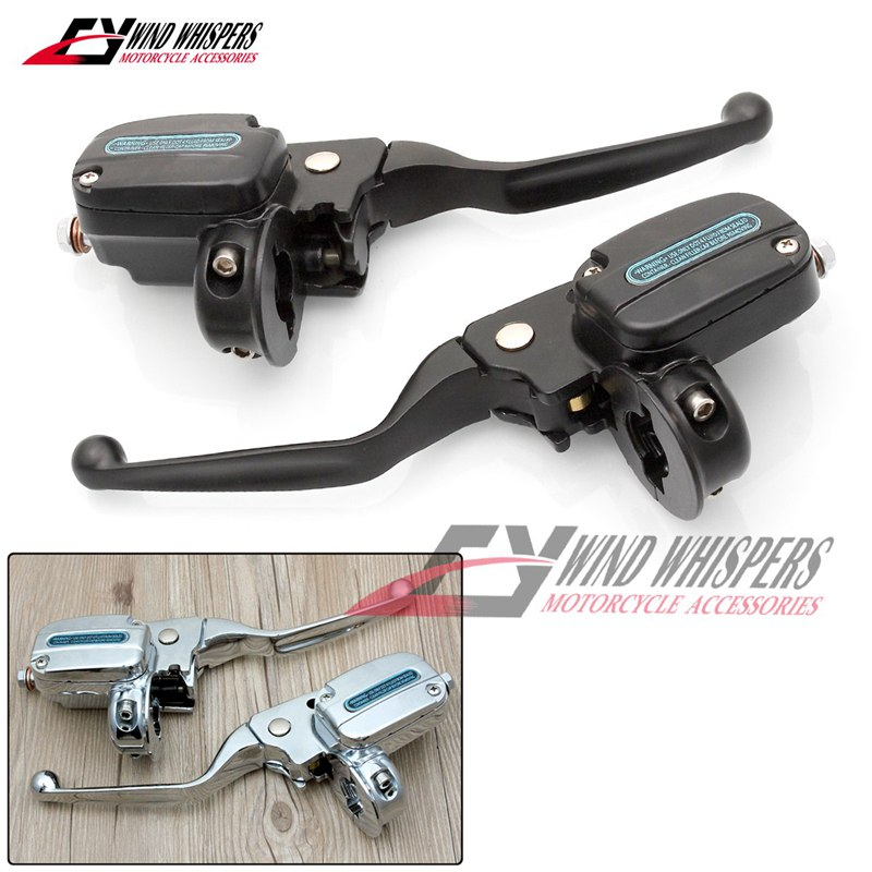 US $249 9 |Motorcycle Hydraulic Clutch brake Master Cylinder For Harley  Davidson Touring Electra & Street Glide-in Levers, Ropes & Cables from