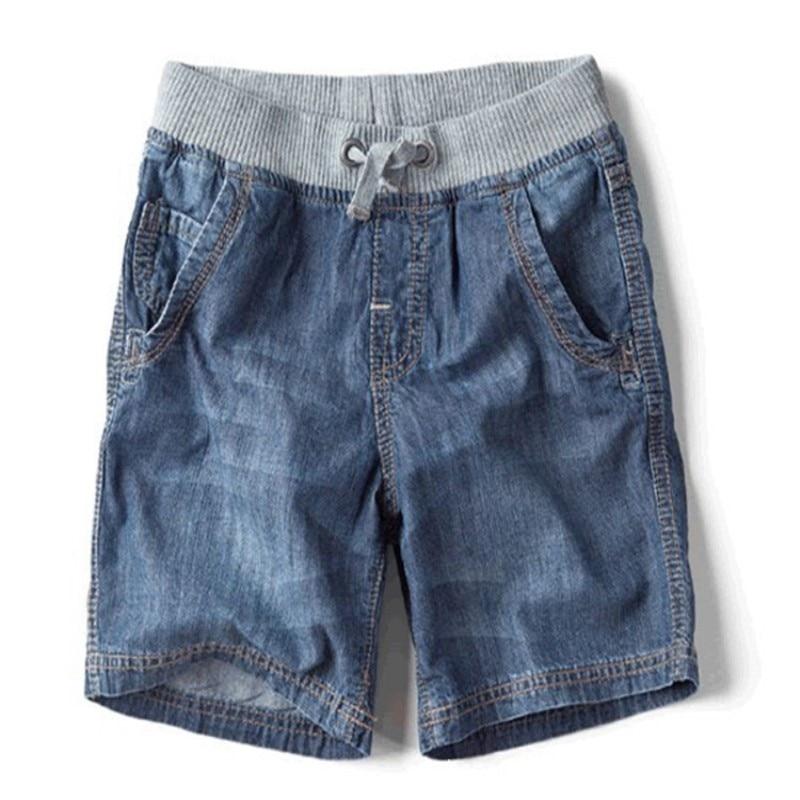 The New Children's Summer Children's Brand Jeans Denim Shorts 2016 Hot Fashion Casual Boy Shorts