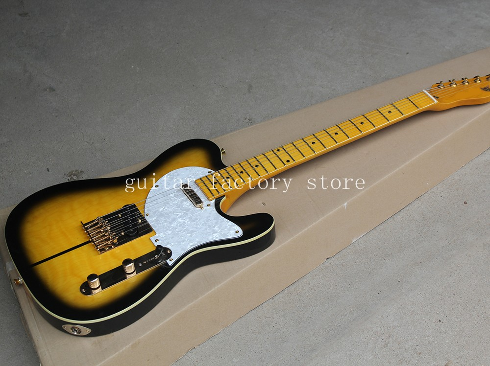 New Arrival F Custom Shop TL Electric Guitar Merle Haggard Signature Tuff Dog guitar,EMS free shipping