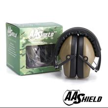 AA Shield Soundproofing Mini Ear Muff Shooting Hearing Protector Noise Reduction Tools 25.8DB OD