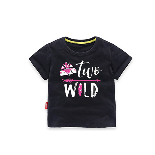 YSCULBUTOL Girl T Shirt Second Birthday 2 Year Old Baby