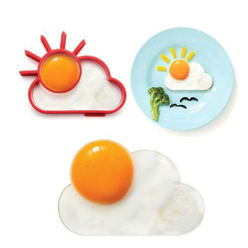 1pcs Food Grade Silicone Fried Egg Head Silica Gel Creative Kitchen Silicone Eggs Mould DIY Food Grade Silicone Mold Creative