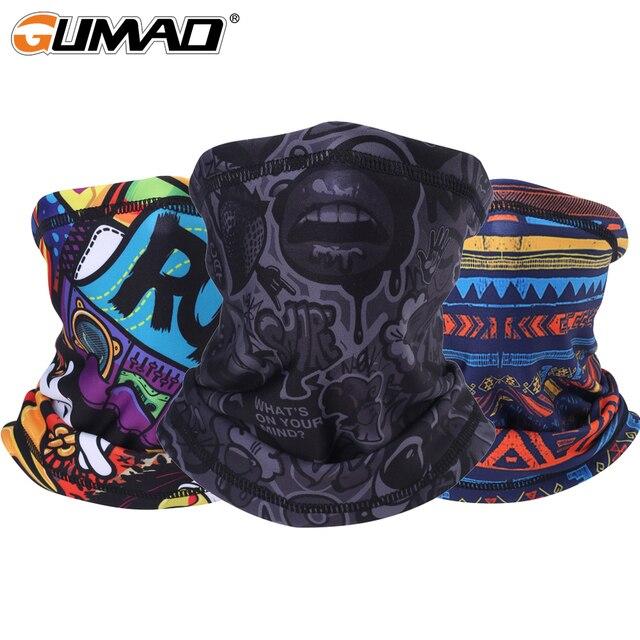 3D шва шеи Gaiter термальная Половина лица маска Балаклава Флисовая труба щит спорт Велоспорт Лыжный спорт для походов Байкерская бандана шарф для мужчин и женщин