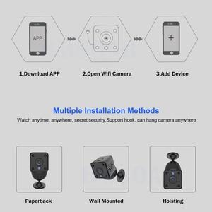 Image 5 - אבטחת IP מצלמה 1080P סוללה כוח 140 תואר ראיית לילה אודיו Reording 2MP אלחוטי Wifi מיני מצלמה Tuya חכם חיים