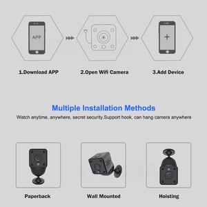 Image 5 - Security IP Camera 1080P Battery Power 140 Degree Night Vision Audio Reording 2MP Wireless WIFI Mini Camera Tuya Smart Life