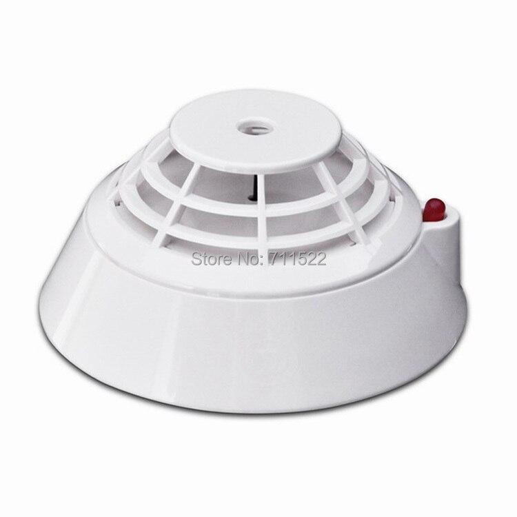 Addressable Heat Detector heat font b alarm b font work with addressable panel Electronic coding heat