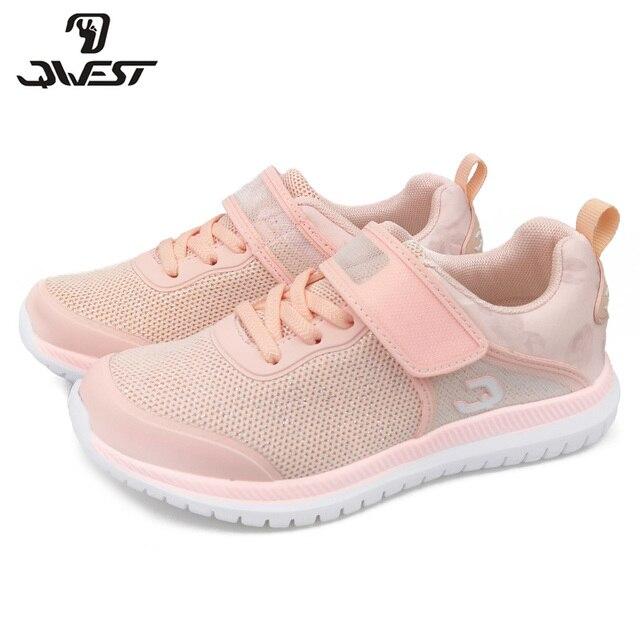QWEST Весна ортопедические кожаная стелька для отдыха спортивная обувь для бега дышащая девушка тапки Размеры 31-37 бесплатная доставка 91K-NQ-1263