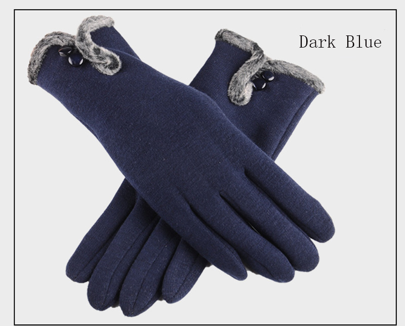 Comfortable and Warm Non Inverted Touch Screen Gloves for Women with Sensitive Touch Screen Function without Hand Exposing to Cold 23