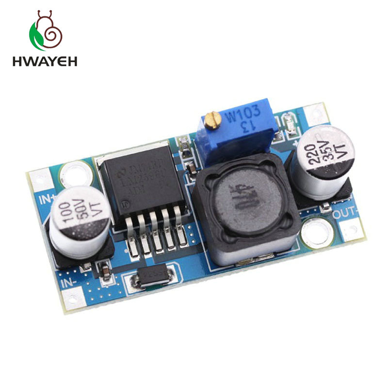 1PCS High Quality 3A Adjustable DCDC LM2596 LM2596S input 4V-35V Output 1.23V-30V dc-dc Step-down Power Supply Regulator module1PCS High Quality 3A Adjustable DCDC LM2596 LM2596S input 4V-35V Output 1.23V-30V dc-dc Step-down Power Supply Regulator module