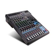 G-MARK Professional аудио микшер консоли Bluetooth Запись 26 язык операционная система 4 моно стерео 12 каналы 3 Band EQ