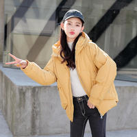 Big Pockets Womens Down Cotton Winter Jacket Coat Campera Mujer Hooded Parkas Cotton Padded Thick Women Jacket Winter Coat C5697