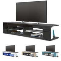 Modern LED TV Stand TV Table Cabinet Home Media Entertainment Console For LCD LED Flat Panel Living Room Furniture