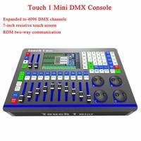 Stage Lighting Touch 1 MX DMX Controller DJ Equipment DMX512 Console Disco Light For LED Par Moving Head Spotlights DJ Controlle