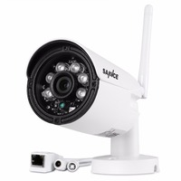 WIFI 1280 X 720P 1 0MP Bullet IP Camera Waterproof 2LED IR Night Vision Outdoor Security