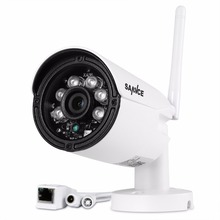 SANNCE 1280 x 720P 1.0MP Bullet WIFI IP Camera Waterproof 2LED IR Night Vision Outdoor Security Camera ONVIF P2P CCTV Cam