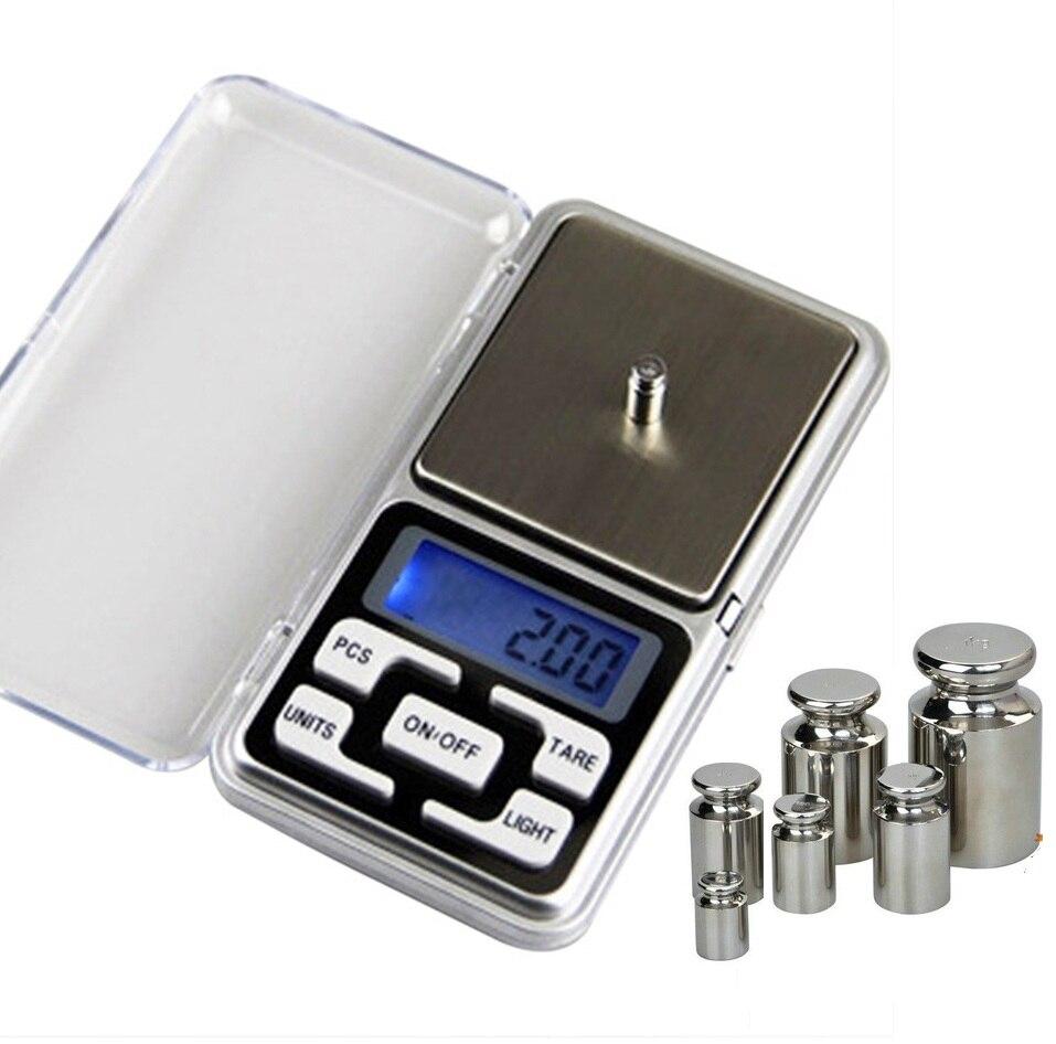 200g/300g/500g x 0.01g Mini Balance numérique de poche pour or Sterling argent bijoux balances Balance gramme balances électroniques|Balances de pesée| |  -