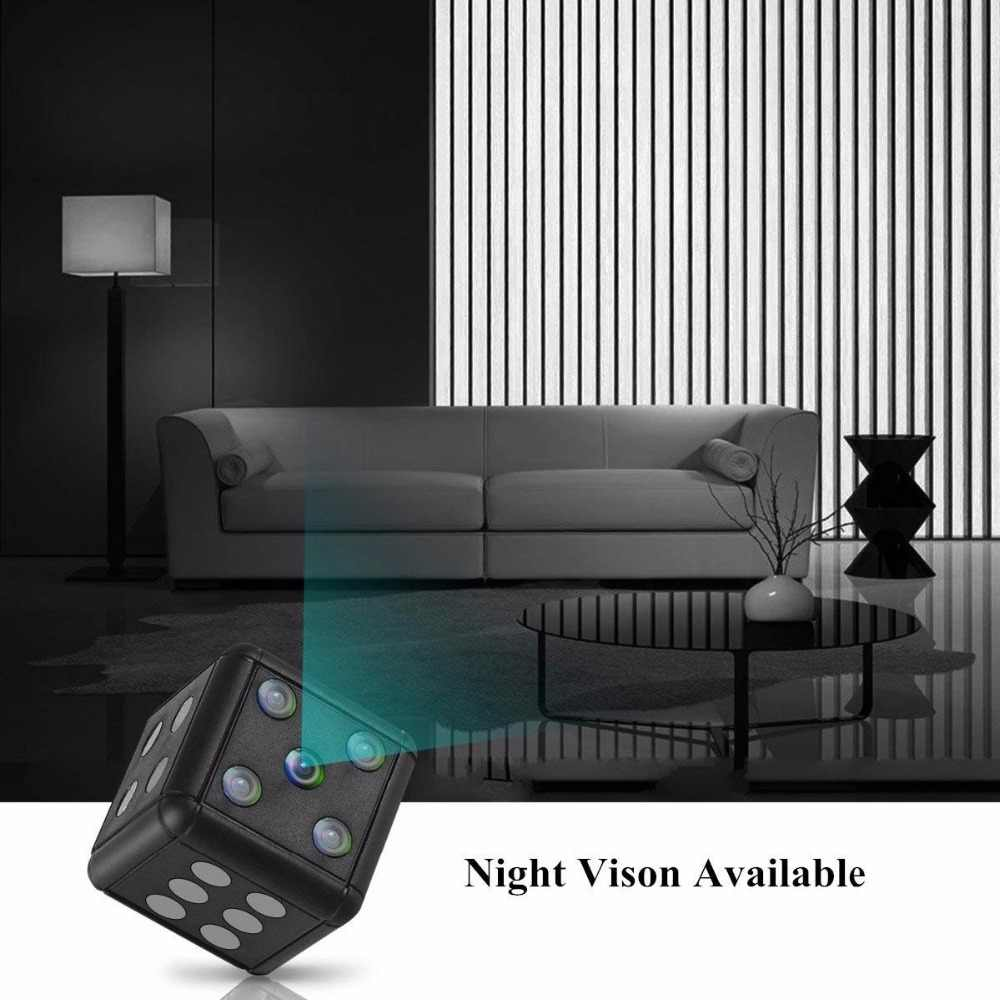 Mini kamera 1080 P Night Vision mini kamera akcja Mini kamera DV kamery wideo dyktafon mikro kamery obsługują ukryte karta tf