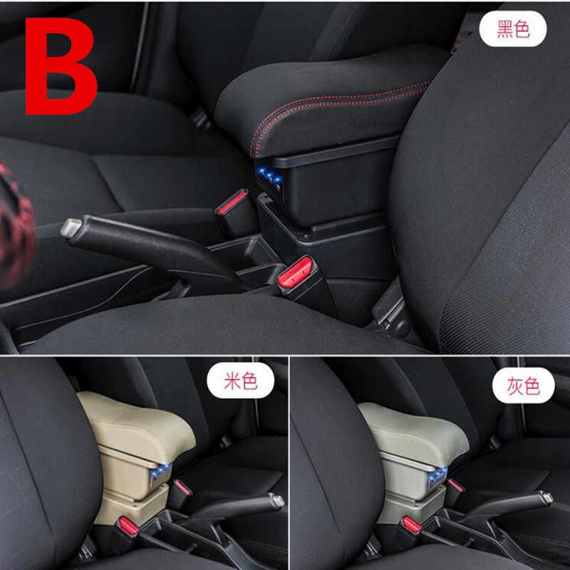 Voor Toyota Aqua armsteun doos centrale Winkel inhoud doos bekerhouder asbak interieur auto-styling accessoires