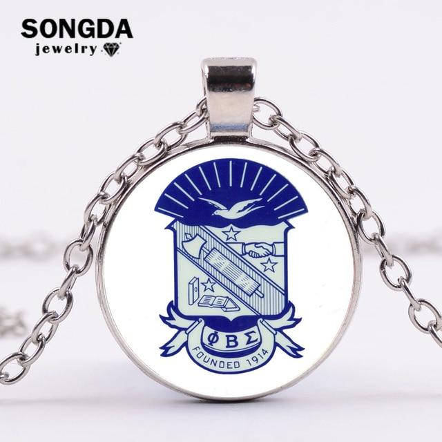 Songda Phi Beta Sigma Logo Custom Necklace Fraternity Brother Group