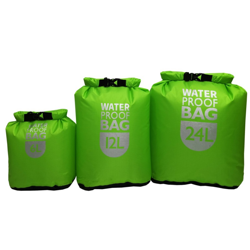 6L12L 24L Waterproof Dry Bag Pack Sack Swimming Rafting Kayak River Trekking Floating Sailing Canoing Waterproof