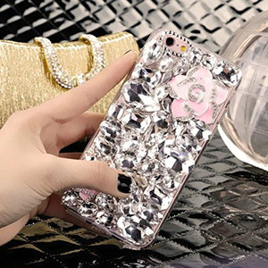 Image 2 - LaMaDiaa 3D Rhinestone Case for Samsung Galaxy J5 J4 J6 J7 J8 2018 A6 A8 A7 A5 A3 Bling Crystal Diamond Protective Shell Cover