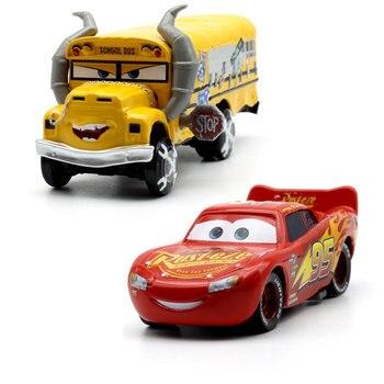 Disney Pixar Cars 3 Lightning McQueen Mater Jackson Storm 1:55 Diecast Metal Alloy Model Car Birthday New Year Gift Toy For Boy cars disney pixar cars jackson storm doc hudson mater 1 55 diecast metal alloy model car birthday gift disney toys for children