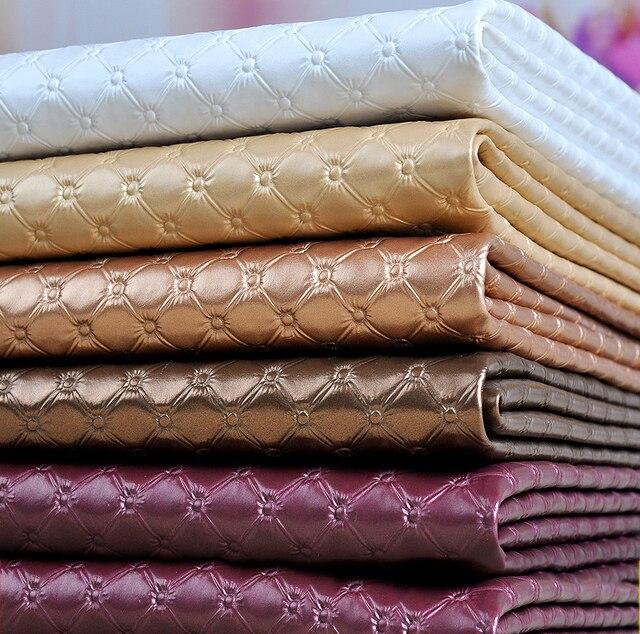 Meetee 50x137 см искусственная кожа PU мягкая ткань 8 мм Толстая искусственная кожа для шитья дивана сумка кровать украшение автомобиля кожаный ма...