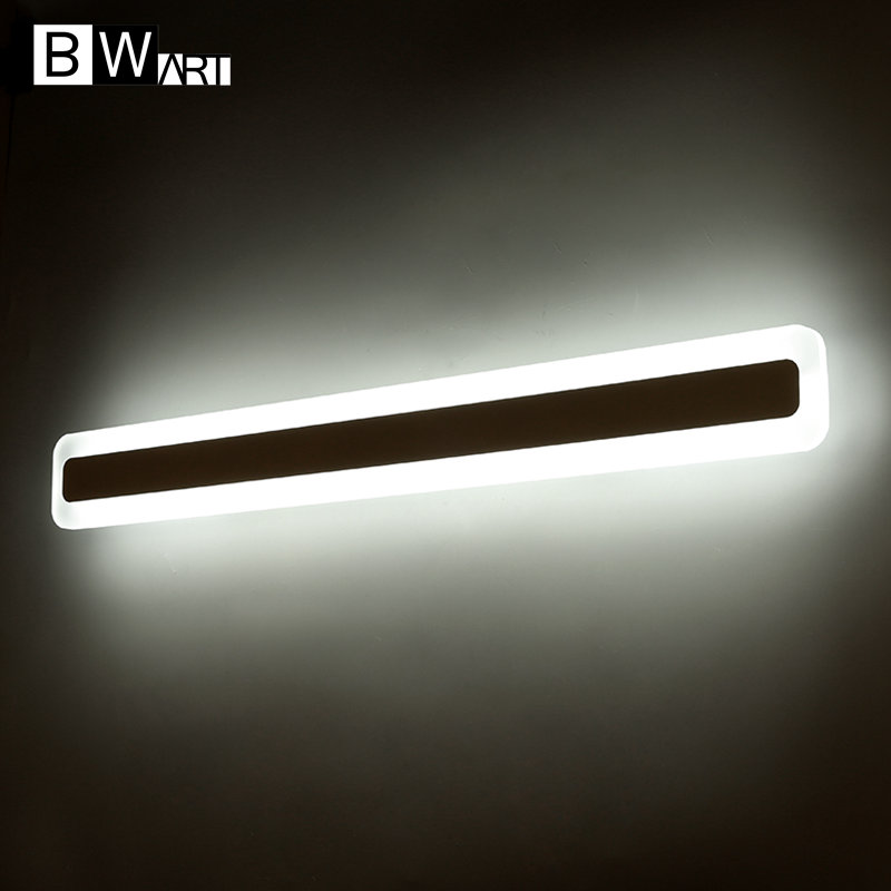 BWART Modern LED Mirror Lights 0.4M~1.2M wall lamp Bathroom bedroom headboard wall sconce lampe deco Anti-fog espelho banheiro