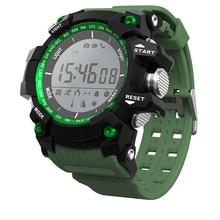 Ip68 a prueba de agua smart watch f2 bluetooth 4.0 deporte apoyo 30 m buceo smartwatch llamada mensaje recordatorio 550 mah dispositivos portátiles