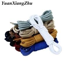 1Pair 14 Colors Round Shoe laces Sneakers ShoeLaces Kids Adult Outdoor Sports Shoelaces Strings Length 80 100 120 140 160CM