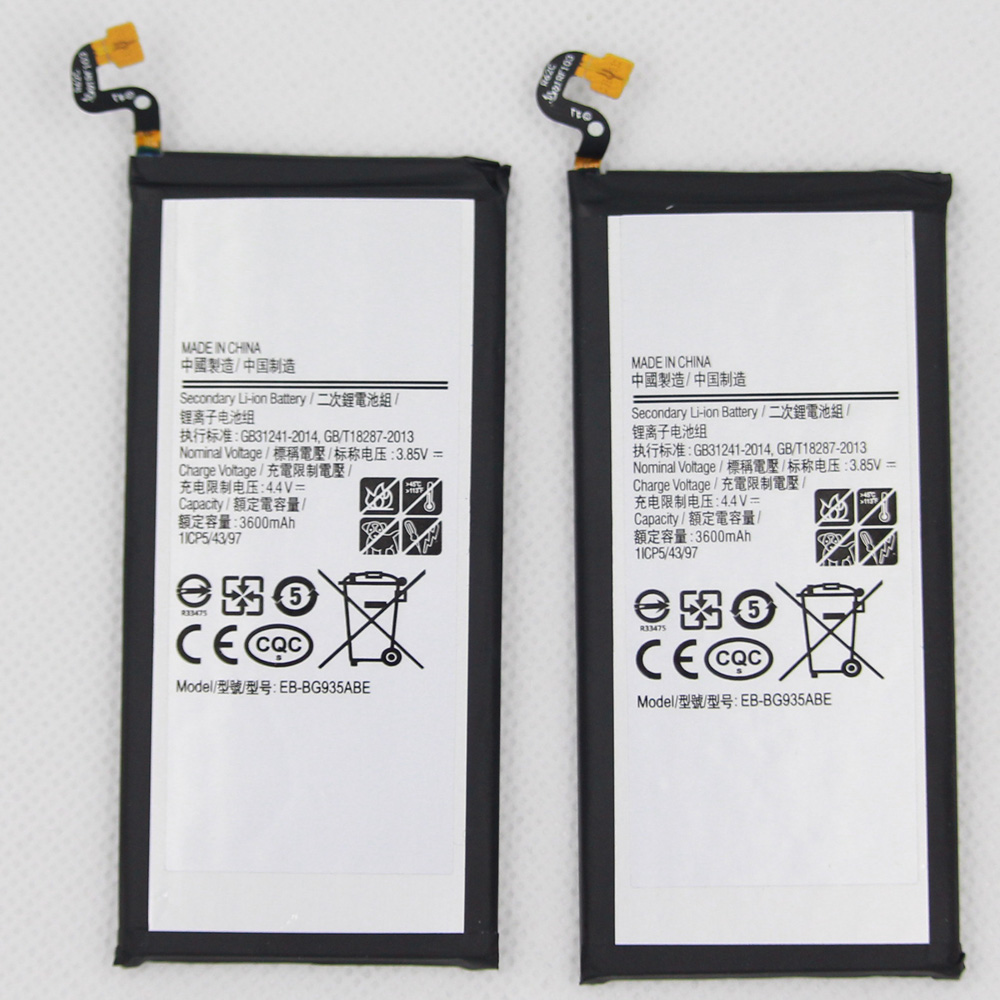 10pcs/lot batteries For Samsung Spare Phone Battery EB-BG935ABE Battery For Samsung GALAXY S7 Edge <font><b>G9350</b></font> G935FD <font><b>SM</b></font>-G935F image