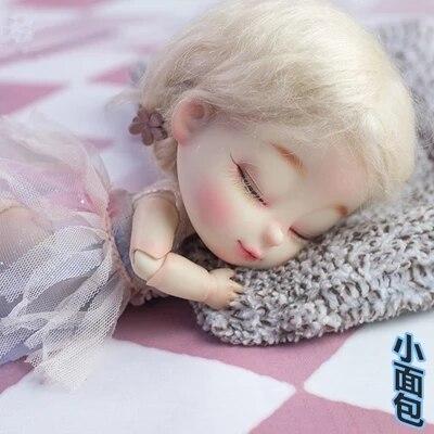 BJD sd sleepy BRU 1/8 modelo de muñeca desnuda para la colección regalo gratis ojos al azar-in Muñecas from Juguetes y pasatiempos    2