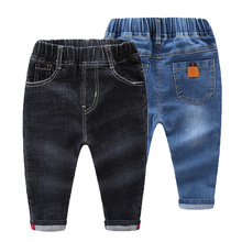 Summer Boys Jeans Infant Cartoon Soldier Pants Trousers Children Denim Trousers youngsters clothes for youngsters garcon