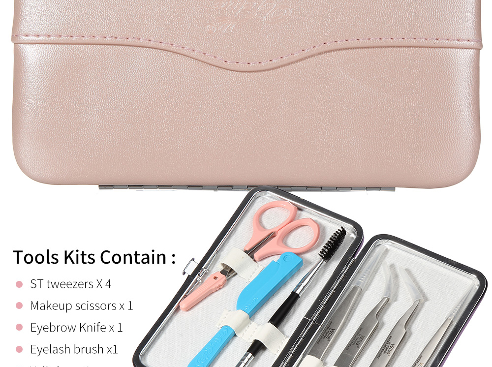 extensão beleza cílios sobrancelha ferramentas kit acessórios