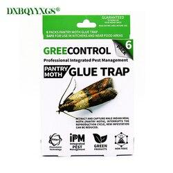 DXBQYYXGS 6 шт. моли ловушка для насекомых моль отпугиватель вредителей fly trap насекомых Семья Индии Valley моли уничтожитель контроль за паразитами