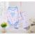4 Unids/lote Otoño Baby Body + Pants de Los Muchachos de Manga Larga Ropa Establece Pijama de Algodón Pantalones Ropa Interior 3 ~ 24 Meses V30